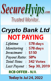 securehyips.com - hyip crypto bank ltd